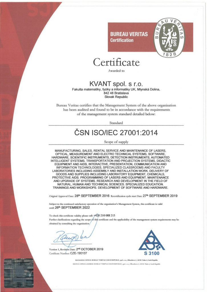 ISO 27001:2014